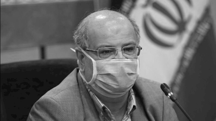 زالی رئیس ستاد کرونای تهران