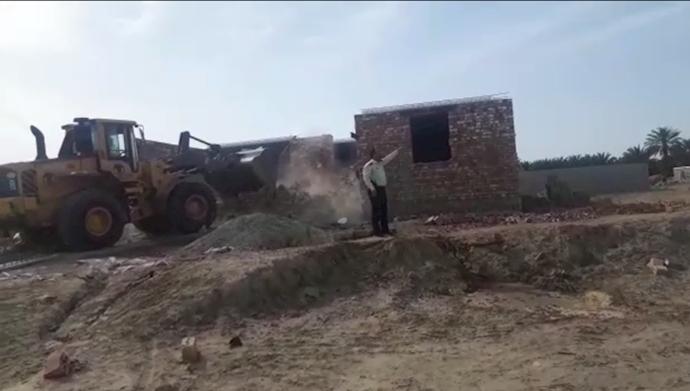 تخریب خانههای مردم در ایرانشهر