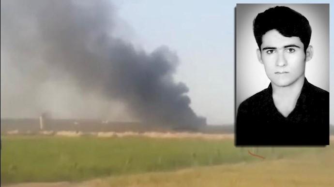 چهاردهمین شهید شورش در زندان  سپیدار اهواز