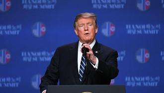 رئیس جمهور آمریکا دونالد ترامپ