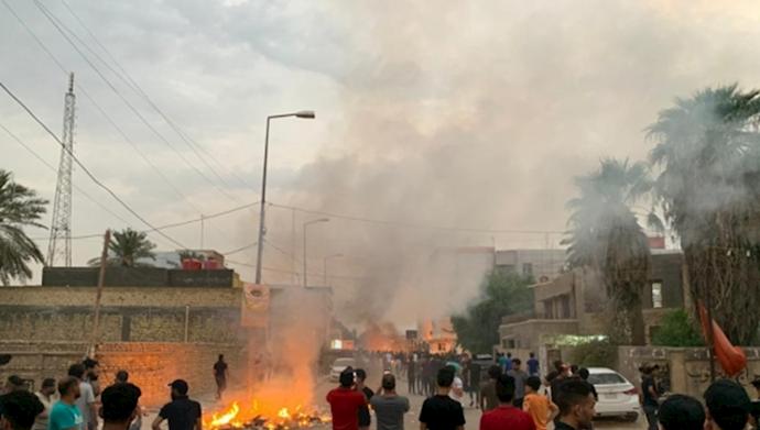 حمله به چادرهای اعتصابکنندگان در ناصریه