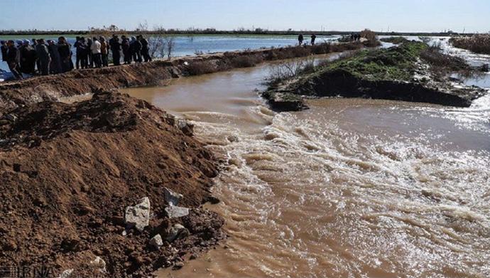 خسارات سیل در ایران