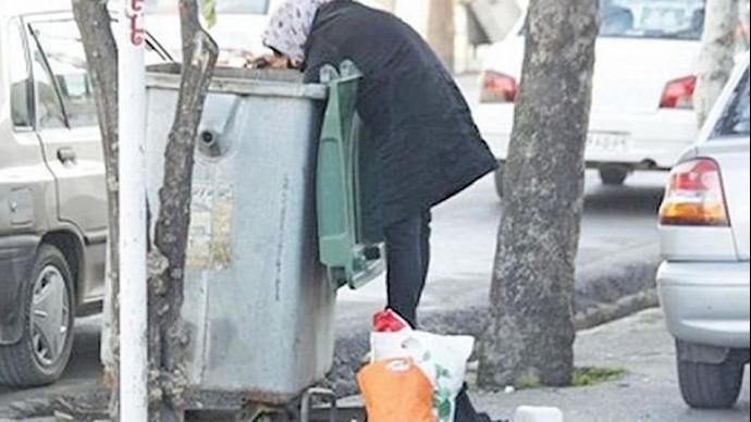 زبالهگردی بر اثر گسترش فقر در خیابانهای شهرهای ایران