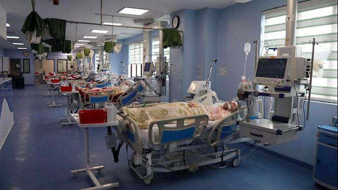 بیماران بستری مبتلا به کرونا در شهر  قم