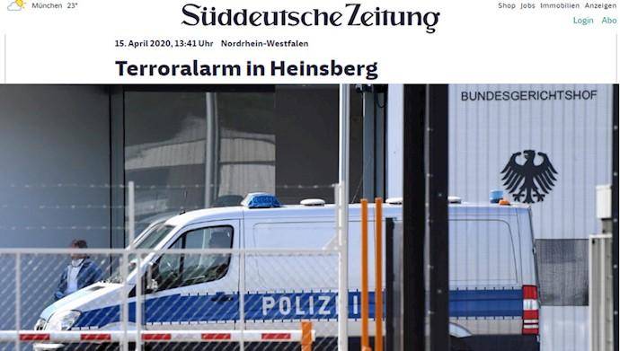 زود دویچه سایتونگ: دستگیری تروریستهای دستگیر شده در آلمان