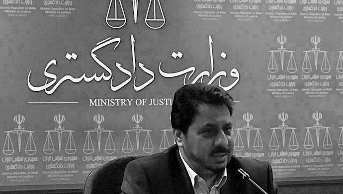 محمود عباسی، از معاونان وزیر دادگستری رژیم