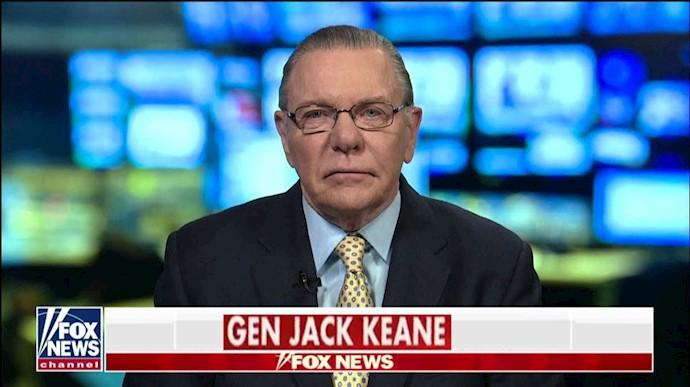 ژنرال جک کین معاون پیشین رئیس ستاد ارتش آمریکا