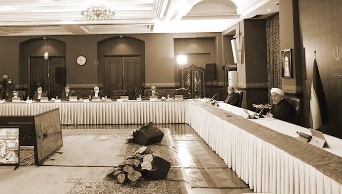 آخوند روحانی در جلسه ستاد کرونا