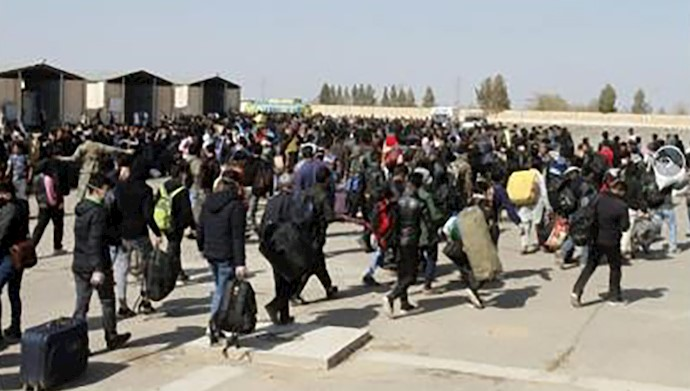 بیرون راندن اتباع افغانی از ایران