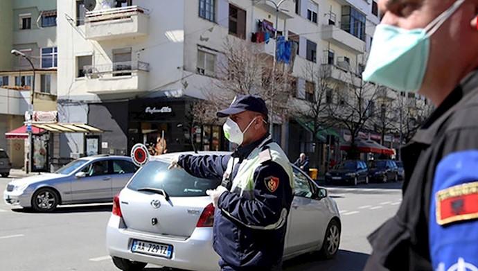 آلبانی منع تردد ایام هفته را سادهتر می کند