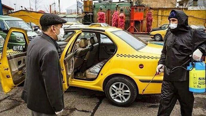 ابتلای ۴۰۰نفر از رانندگان تاکسی به کرونا