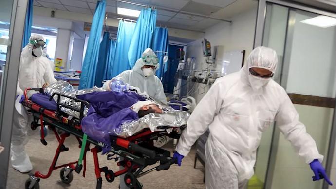 بیماران مبتلا به کرونا در درد و رنج