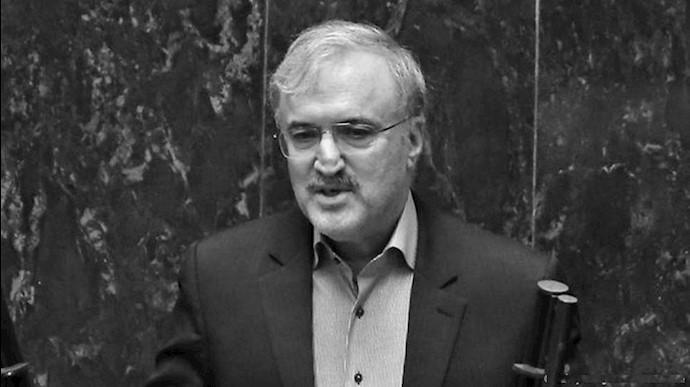 نمکی، وزیر بهداشت رژیم