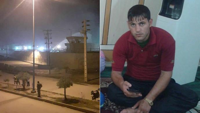 محمد تامولی با شلیک دژخیمان خامنه ای در زندان سپیدار اهواز  به قتل رسید