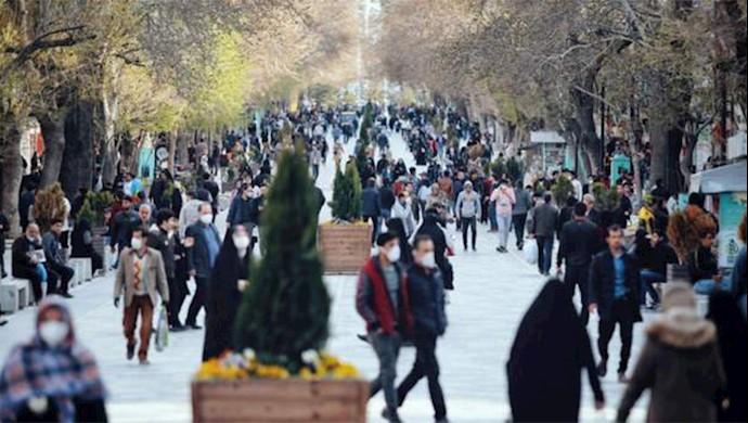 تهران بعد از باز کردن کسب و کارها و ادارات