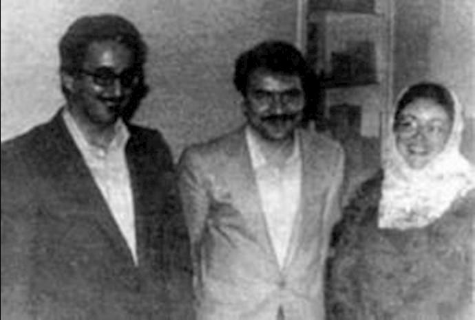 مسعود رجوی و فیروزه بنی صدر