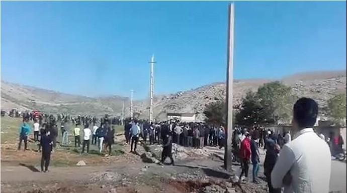 درگیری در منطقه فلکالدین خرمآباد