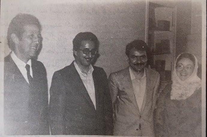 دیدار با احمد بن بلا نخستین رئیسجمهور الجزایر