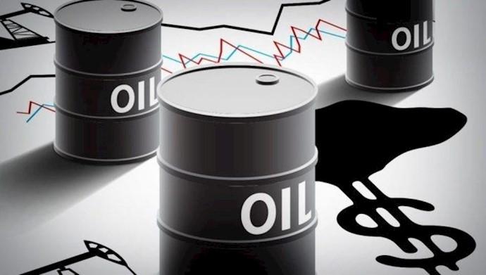 پایین آمدن قیمت نفت