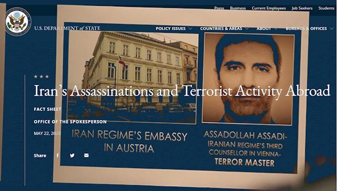 اسدالله  اسدی، دیپلمات تروریست رژیم ایران