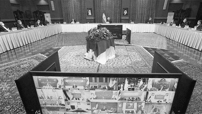 جلسه ستاد کرونای رژیم - ۲۷ اردیبهشت