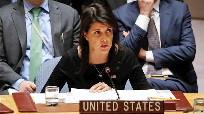 نیکی هیلی نماینده پیشین آمریکا در سازمان ملل متحد - عکس از آرشیو