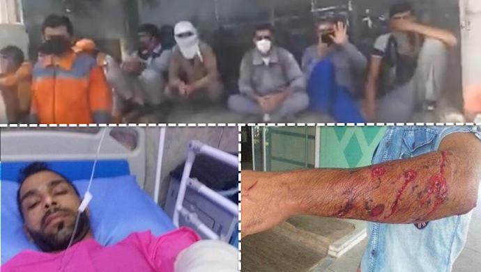 تجمع  و اعتراض شهرداری بندر ماهشهر و هجوم، تهدید، بازداشت و مجروح کردن کارگران شهرداری منطقه ۶ اهواز