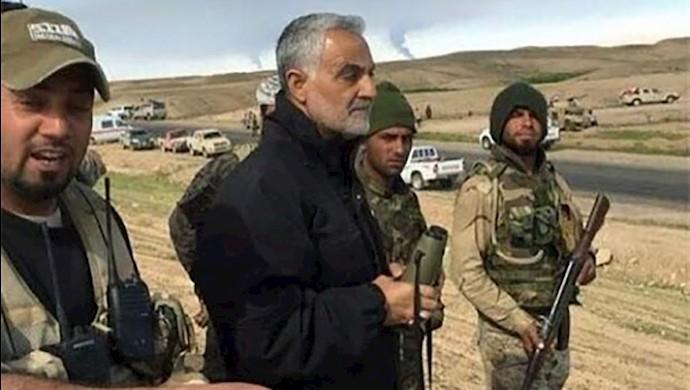 قاسم سلیمانی در سوریه