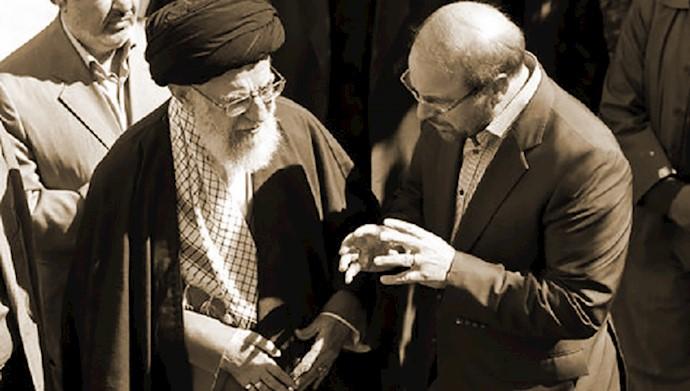 قالیباف - خامنهای
