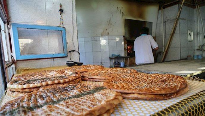 گرانی قیمت نان
