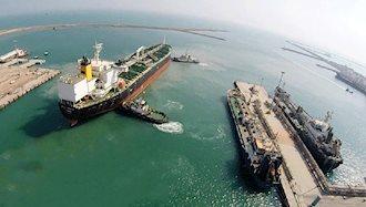 کشتی به گل نشسته ایرانی در سنگاپور