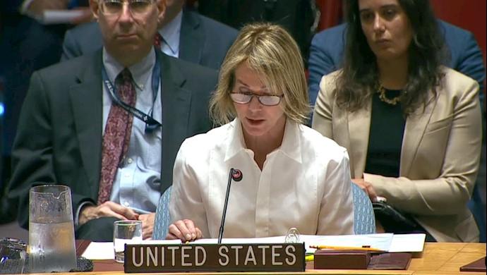 کلی کرافت  نماینده آمریکا در شورای امنیت