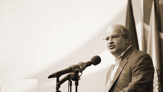 علیرضا زالی رئیس ستاد حکومتی مقابله با کرونا در تهران