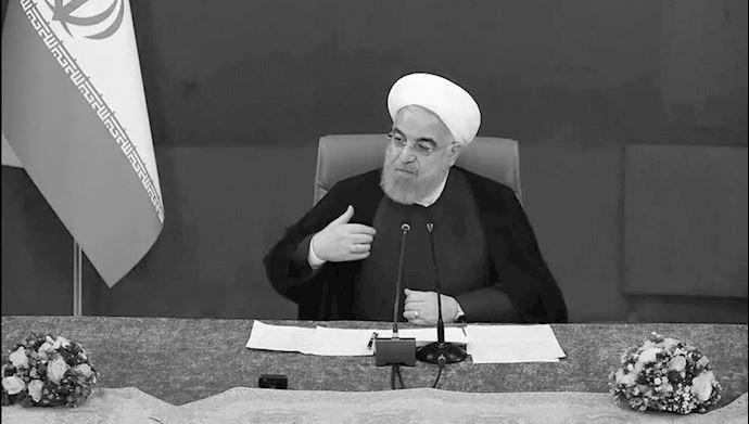 آخوند روحانی رئیس جمهور ارتجاع