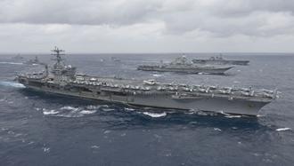 نیروی دریایی آمریکا در خلیج