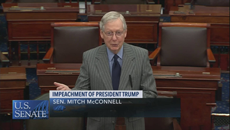 سناتور میچ مککانل، رهبر اکثریت سنا