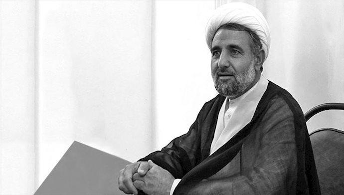 آخوند مجتبی ذوالنوری رئیس  کمیسیون امنیت ملی و سیاست خارجی مجلس ارتجاع
