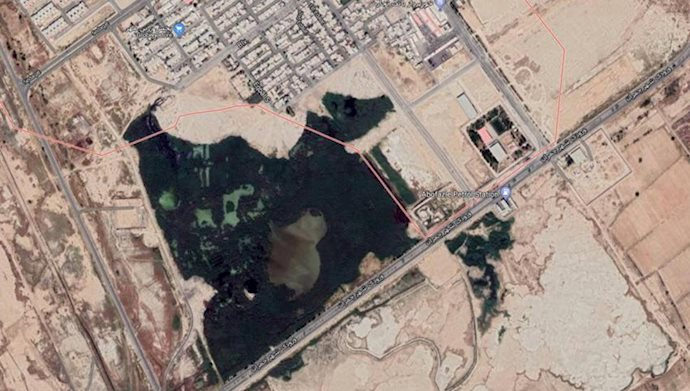 منطقه نیزارها در ماهشهر