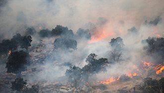 وقوع ۱۱۰۰ آتشسوزی در جنگلها و مراتع ایران در سه ماه گذشته