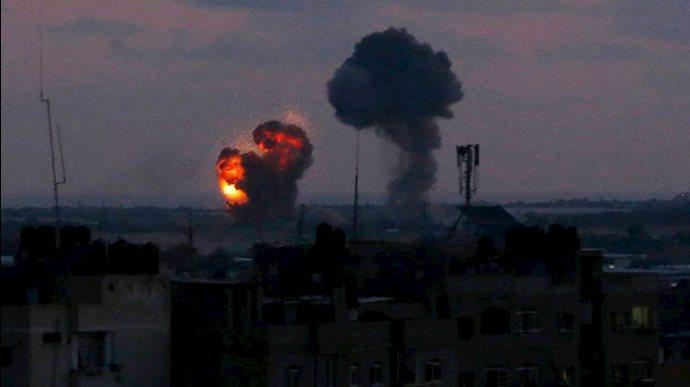 مواضع شبهنظامیان وابسته به رژیم ایران در سوریه