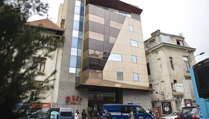 هتل محل اقامت آخوند منصوری در رومانی