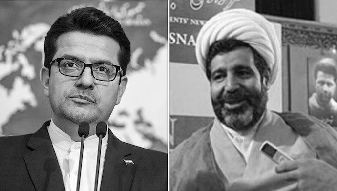 آخوند منصوری - موسوی سخنگوی وزارت خارجه رژیم