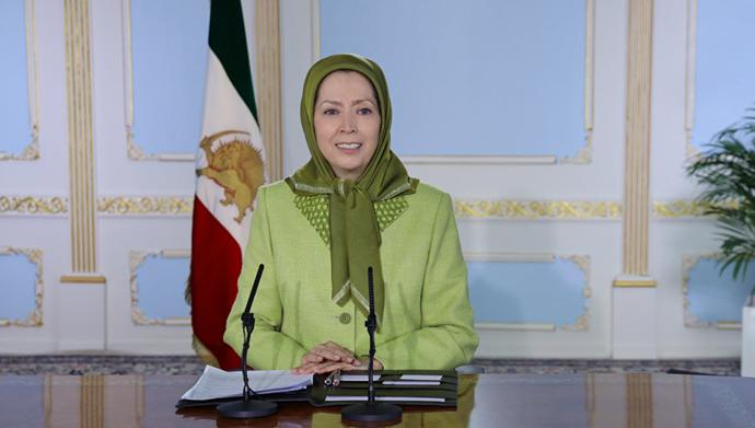 مریم رجوی - پیام به کنفرانس اعلام حمایت اکثریت اعضای کنگره از قطنامه۳۷۴ برای ایستادن درکنارمردم ایران برای آزادی