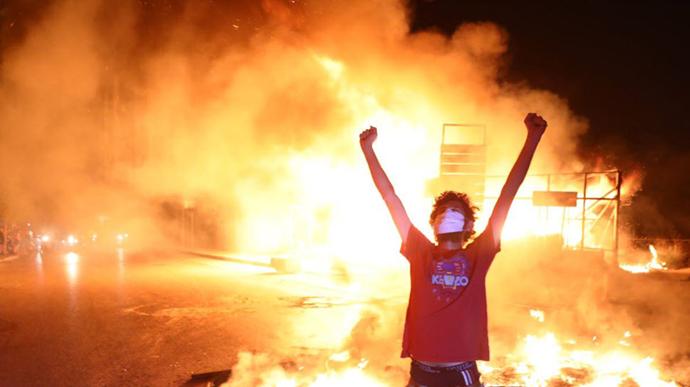 بیروت در دومین شب قیام