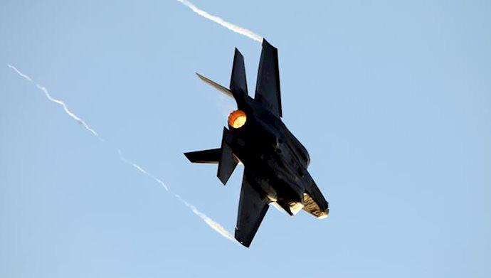 حمله هوایی به مواضع نیروهای وابسته به دولت بشار اسد در شرق سوریه