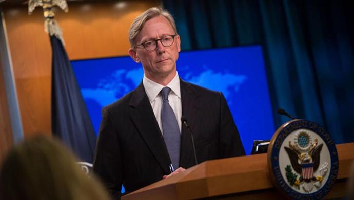 برایان هوک همآهنگکننده اقدام علیه رژیم ایران در وزارتخارجه آمریکا
