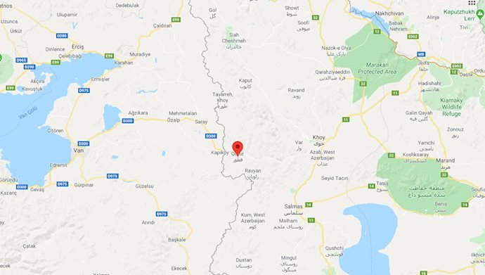 زلزله در قطور آذربایجان غربی