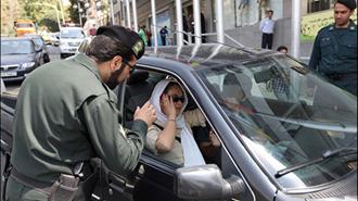 اقدام زنستیزانه رژیم آخوندی با عنوان کشف حجاب در خودرو