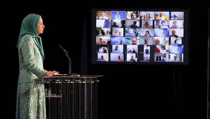 سخنرانی مریم رجوی در مراسم ۳۰ خرداد