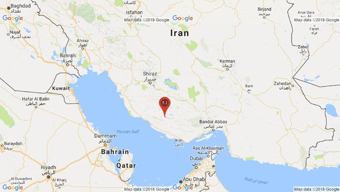 زلزله ۵.۱ریشتری بیرم فارس را لرزاند